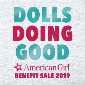 Dolls Doing Good American Girl Benefit Sale 2019 T-Shirt